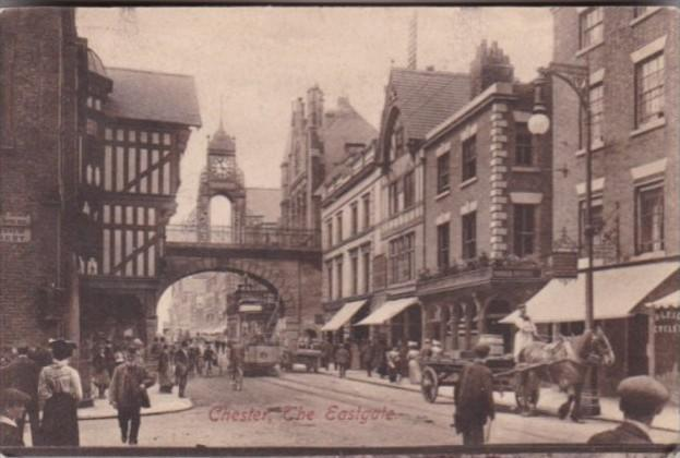 England Chester The Eastgate