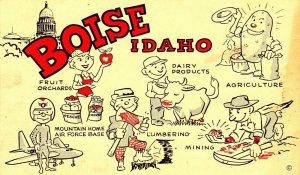COMIC: Highlights of BOISE , Idaho , 1958