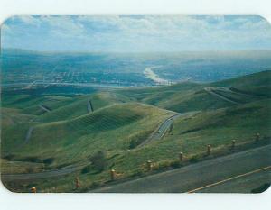 Unused Pre-1980 LEWISTON HILL Lewiston Idaho ID t3847