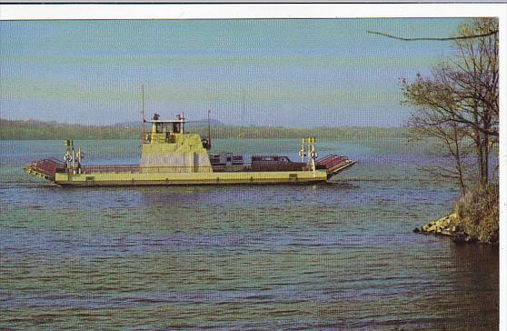 Colsac II Free Ferry at Merrimac Wisconsin