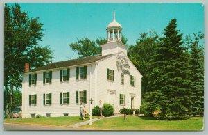 Wellfleet Massachusetts~Cape Cod~Town Hall~Belfry~c1950~Postcard