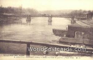 Chateau-Thierry, France, Carte, Postcard Nouveau Pont de Guerre  Nouveau Pont...