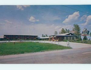 Unused Pre-1980 SILVER SADDLE MOTEL Smith Center Kansas KS n9149