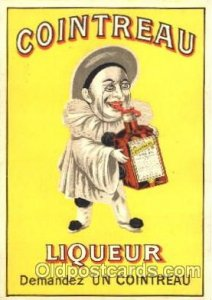 Advertising Cointreau Liqueur Postcard Post Card Cointreau Liquear Unused