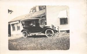 F22/ Early Automobile Real Photo RPPC c1910 People Postcard 20