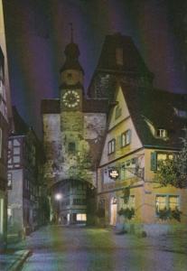 Germany Rothenburg Ob Der Tauber Markusturm