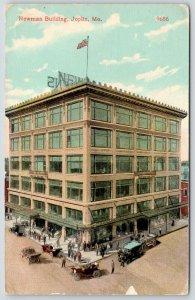 Joplin Missouri~Newman Building~Vintage Cars~Convertibles~Flagpole on Top~1915