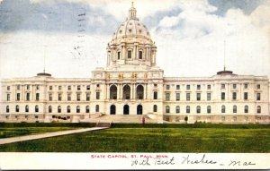 Minnesota St Paul State Capitol Building 1907