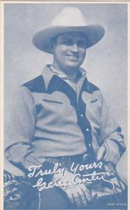 Cowboy Arcade Card Gene Autry