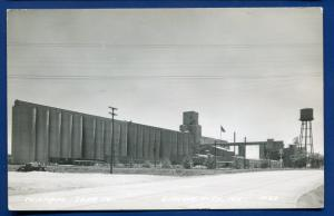 Gibson City ILLinois il Central Soya Company real postcard RPPC #1