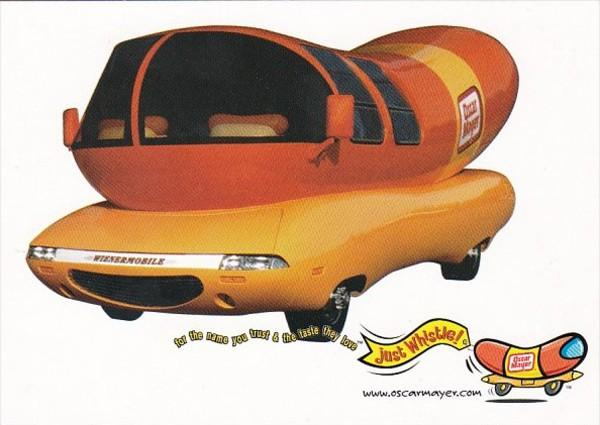 Advertising Oscar Meyer Wienermobile