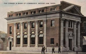 MOOSE JAW, Saskatchewan, 1900-10s; The Canadian Bank of Commerce
