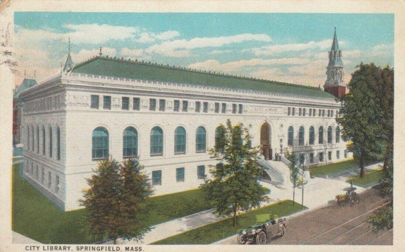 SPRINGFIELD , Massachusetts , 1924 ; City Library