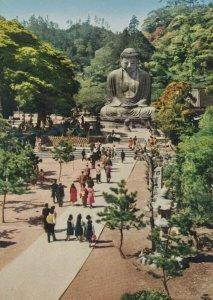 Great Buddha at Kamakura Japan Postcard