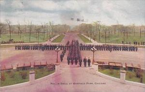 Illinois Chicago Police Drill At Garfield Park 1912