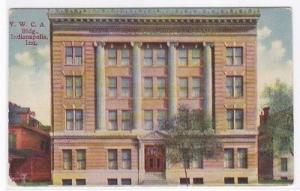 YWCA Indianapolis Indiana 1908 postcard