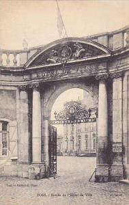 Entree De l'Hotel De Ville, Toul (Meurthe-et-Moselle), France, 1900-1910s