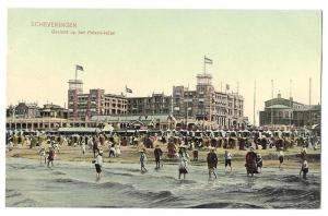 Netherlands Holland Scheveningen Beach Palace Hotel Postcard