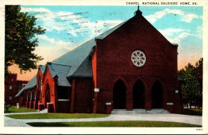 Virginia National Soldiers Home The Chapel 1933 Curteich