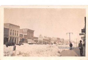 Winter Scene in Bismark, North Dakota
