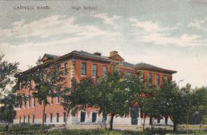 LARNED , Kansas , PU-1909 ; High School