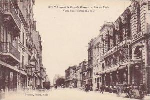 Vesle Street Before The War, Reims (Marne), France, 1900-1910s