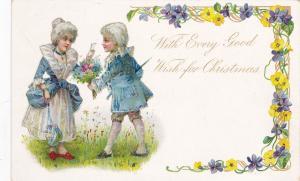 CHRISTMAS : Victorian Couple , 00-10s TUCK