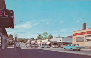 PLYMOUTH , Michigan , 50-60s : Main Street
