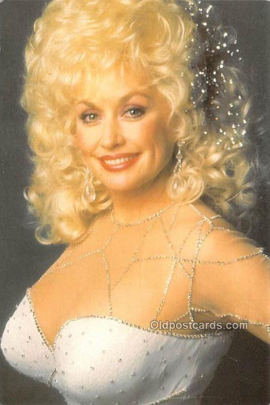 Dolly Parton as Jack in Rhinestone Movie Star Actor Actress Film Star Postcar...