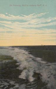 New Jersey Asbury Park The Foaming Surf 1912