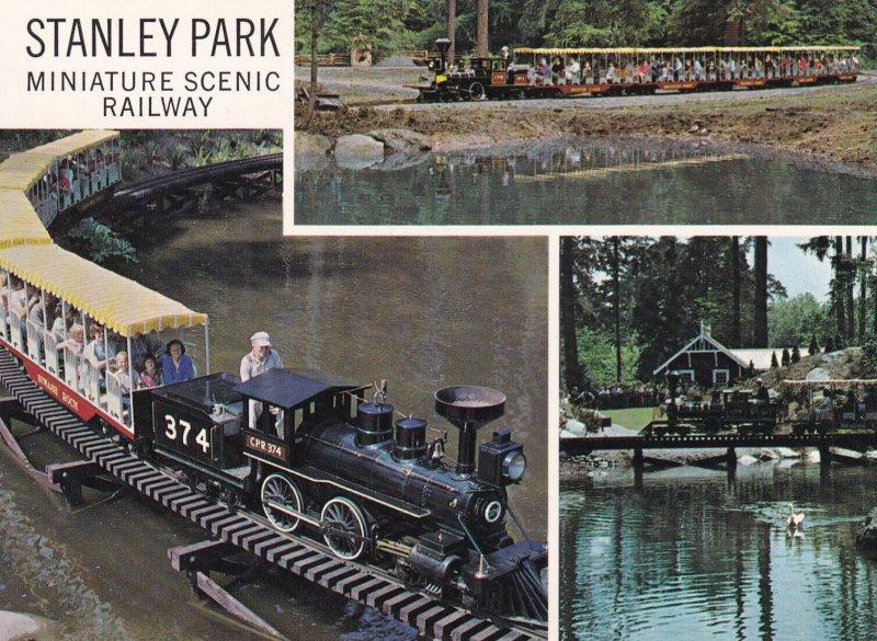 VANCOUVER, British Columbia, Canada, 1950-1970s; Miniature Scenic Railway, St...