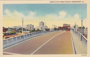 SHEVEPORT , Louisiana , 30-40s ; City from Viaduct
