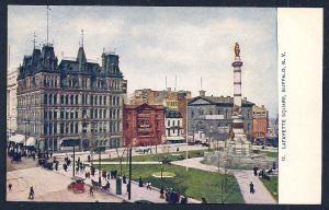 Lafayette Square Buffalo NY unused c1910's