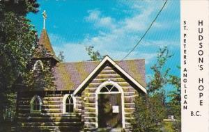 Canada Hudsons Hope Saint Peters Anglican British Columbia