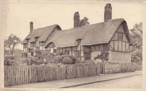 Anne Hathaway's Cottage, Shottery (Stratford upon Avon), England, UK, 1900-1910s