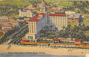 Roney Plaza Hotel - Miami Beach, Florida FL