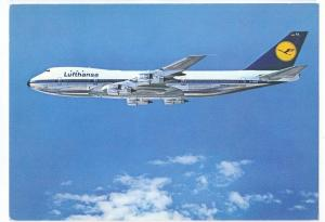 Lufthansa Boeing 747 Specifications c 1979 4X6 Jet Airplane