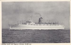 Oceanliner/Steamer/Ship, C.P. Liner Empress Of Britain, 25,500 Tons, 1910-20s