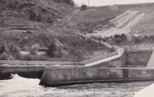 Nebraska Ogallala Kingsley Dam Spillway Real Photo