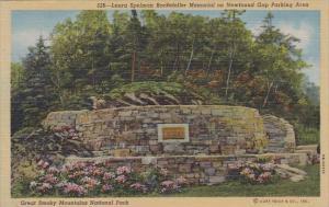 Tennesse Great Smoky Mountains National Park Laura Spelman Rockefeller Memori...