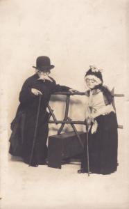 Child as Jewish Rabbi Antique Norwich Theatre Postcard