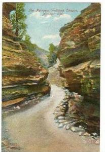 The Narrows, Williams Canyon, dirt road, Manitou, Colorado, 00-10s