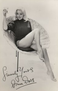 RP: Pinup Dana Dors , TV Star , 1950s