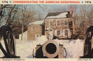 1976 Commemorating The American Bicentennial Postcard