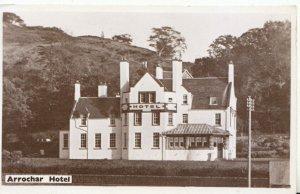 Scotland Postcard - Arrochar Hotel - Loch Long - Dunbartonshire - Ref TZ7336