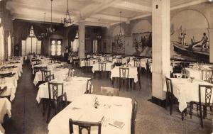 Baltimore MD~Walker-Hasslinger Restaurant~Oyster Bar~Dining Room~1930s RPPC