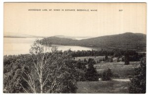 Greenville, Maine, Moosehead Lake, Mt. Kineo In Distance
