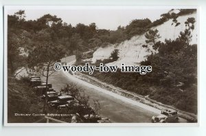 tp9163 - Hants - An Early View of Durley Chine & Carpark, Bournemouth - postcard