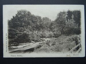Northumberland WOOLER Happy Valley c1905 Postcard by Auty Series G.H.,W.B. 2635