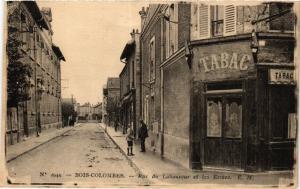 CPA AK BOIS-COLOMBES Rue du Laboureur et les Ecoles (413812)
